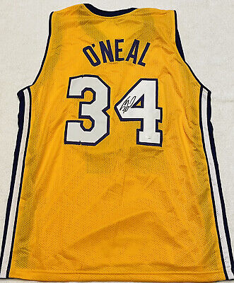 Shaquille O'Neal Signed Autographed Los Angeles Lakers Jersey COA | eBay