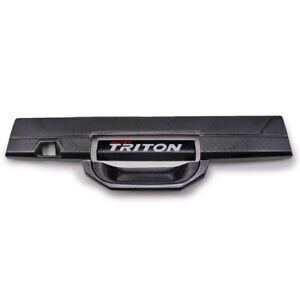 Carbon Black Bowl Insert Handle Cover For Mitsubishi L200 Triton 2016-2019