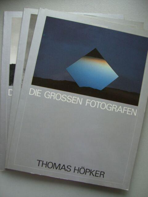 3 Bücher Die grossen Fotografen Thomas Höpker Herbert List Lartigue Fotografie