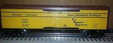 Lionel 6-30180d PRR Fruit Growers Reefer Set Break-up 3 Rail Traditional 0 scale