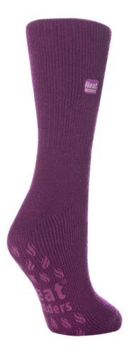 Ladies Original Lavender Heat Holder Thermal Slipper Socks 4-8 uk 37-42 5-9 us