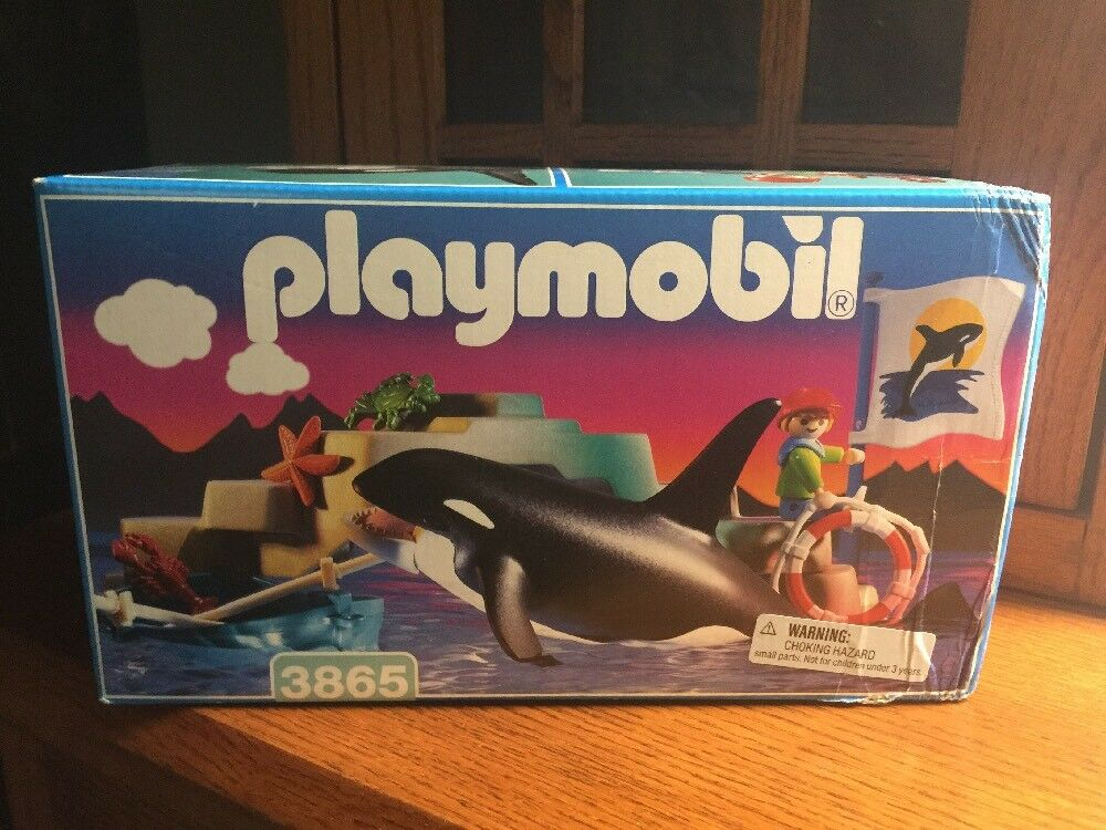 Playmobil Orca Set Number 3865 Nuovo In Box