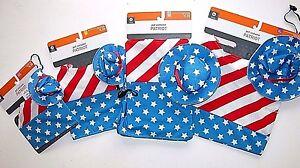 NWT NEW Dog Red/White/Blue Patriot Stars Stripes Halloween Costume XS S M XL Pet