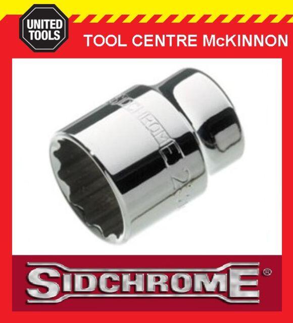 """SIDCHROME SCMT14236 1/2"""" DRIVE 12pt 19mm TORQUEPLUS STANDARD SOCKET"""