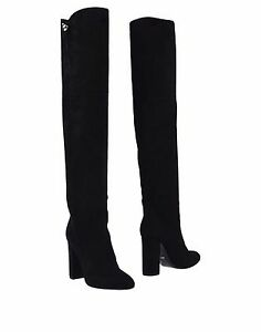 Christian Dior Leather Over-The-Knee Boots clearance original best place sale online discount shopping online good selling online dl1eUtIV