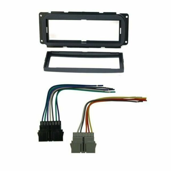 Car Stereo Dash Install Mounting Kit Wire Harness For