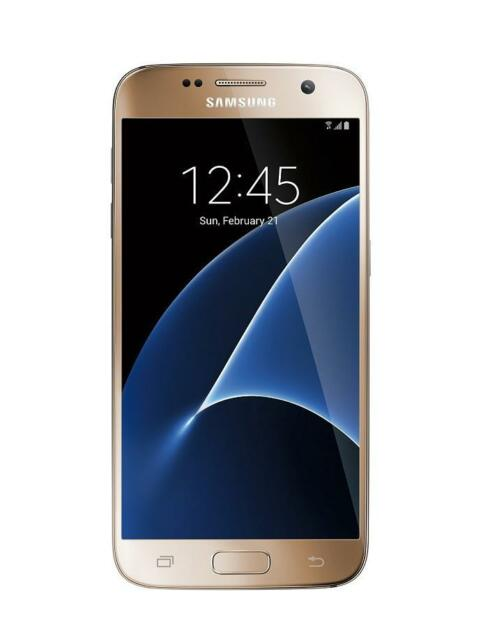 Samsung Galaxy S7 G930T Gold T-Mobile Android 4G LTE 32GB Phone Used