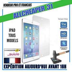 Vitre-Film-de-protection-VERRE-Trempe-IPAD-AIR-AIR2-2-3-4-MINI-IPAD-PRO-9-7-12-9