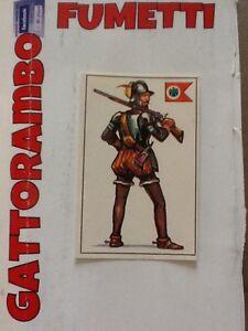 178 OTTIMA MAI ATTACCATA FIGURINA ARMI E SOLDATI EDIS 1971 n
