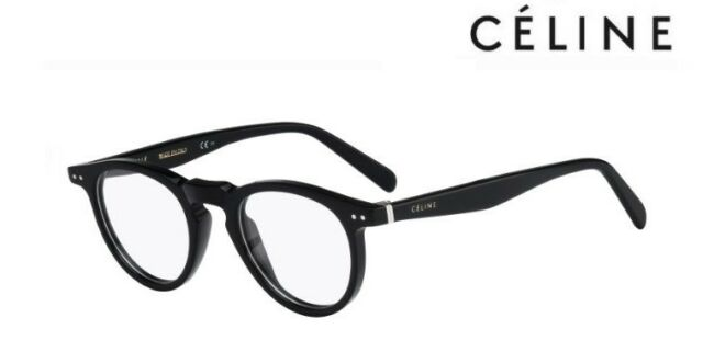 073240ea8b54 CÉLINE Glasses Frames CL 41405 Thin Christy (807) Black - for sale ...