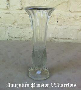 Modeste B2018151 - Vase En Verre - 21 Cm De Hauteur - Très Bon état Prix Raisonnable