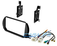 Double 2 Din Complete Car Stereo Radio Dash Installation Kit & Bose Amp Plug