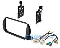 Double 2 Din Complete Car Stereo Radio Dash Installation Kit & Bose Amp Plug