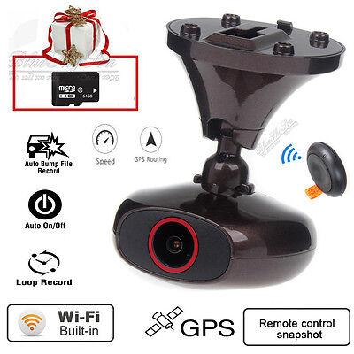 Ddpai M6 Plus HD 1440P WIFI Car Dash Camera Video DVR GPS Iphone Android +64GB