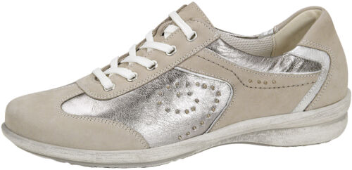Femmes Lacets Casual Chaussures WALDLAUFER 214001 Beige Tailles UK 4 4.5 5 6.5 7