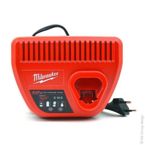 220V MILWAUKEEC12-C Caricabatterie Rapido per Batterie da 12V M12™