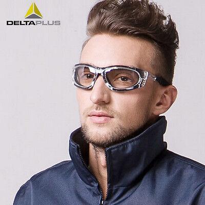 DeltaPlus BLOW Safety Glasses Gradient Smoke Lens Specs Work Wear New BLOWINFG