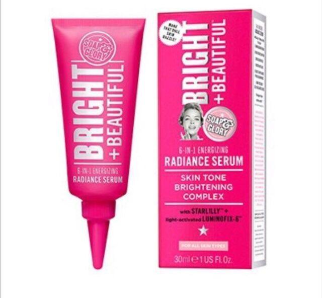 New Soap & Glory Bright & Beautiful Radiance Facial Serum 30ml