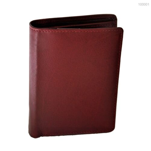 Geldbörse mit RFID-Blocker feines Rindleder Portemonnaie Geldbeutel Damen Herren