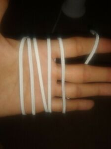 1 8 Inch 3mm Elastic Band String Face Mask Crafts 1 10 20 Yards