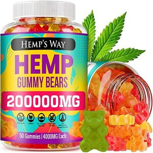 Natural Gluten Free Gummies Gummy Bear Vitamin Premium Vegan Calm Health