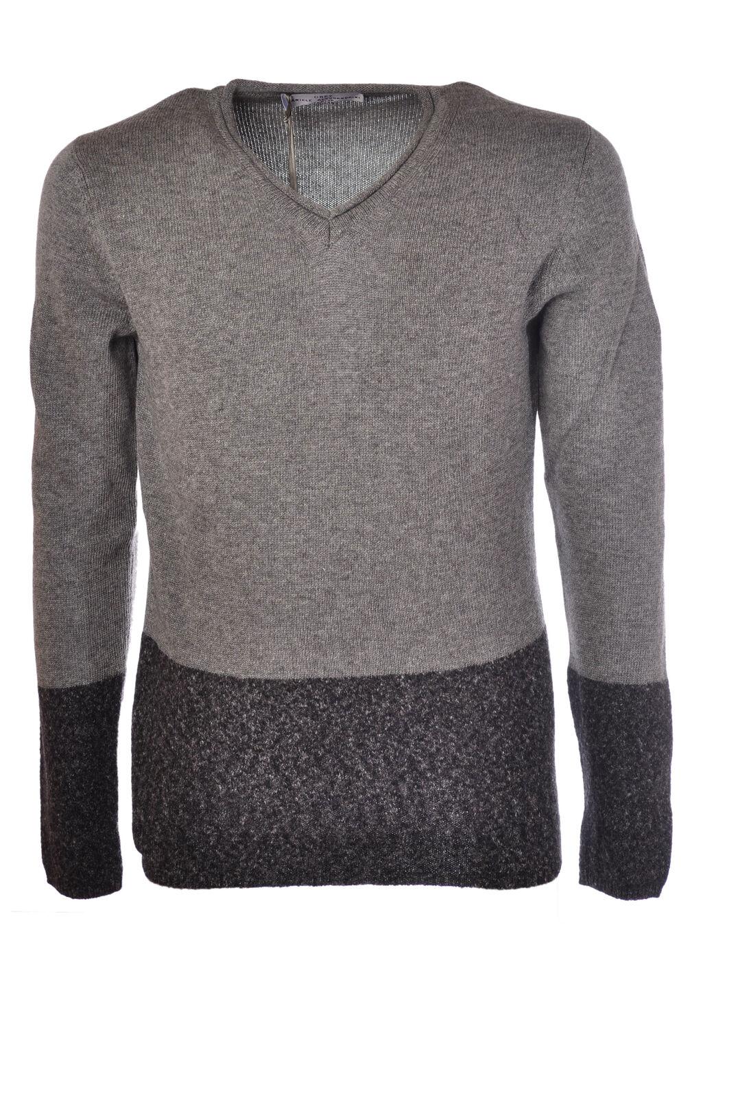 Daniele Alessandrini  -  Sweaters - Male - Grau - 2831531N173456