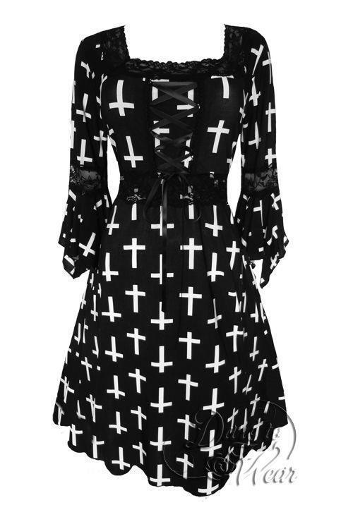 Dare To Wear Victorian Gothic Plus Größe Renaissance Corset Dress Joan of Arc