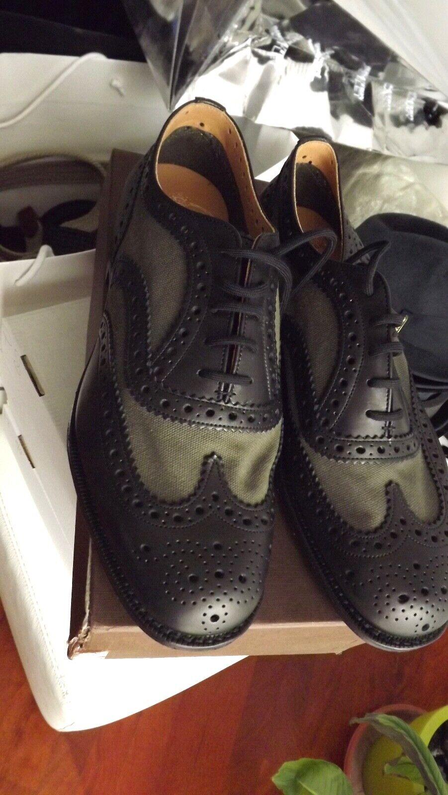 CHURCH'S LONDRA zapatos NUOVA COLLEZIONE  PELLE AUTENTICHE 490,00 CARTEL.42
