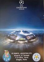 Programm UCL 2016/17 FC Porto - Leicester City