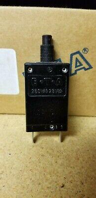 loc A6 ETA 45-700-IG8-S14-DD 2A Thermal Fuse Circuit Breaker 250VAC 28VDC *NEW*