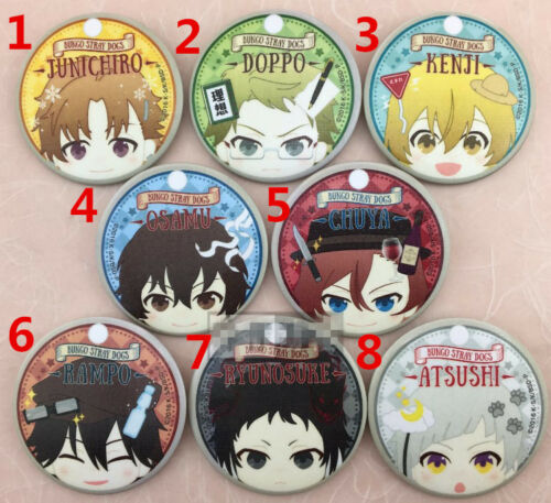 T387 Anime Bungou Stray Dogs badges Pins Schoolbag Backpack Decorate