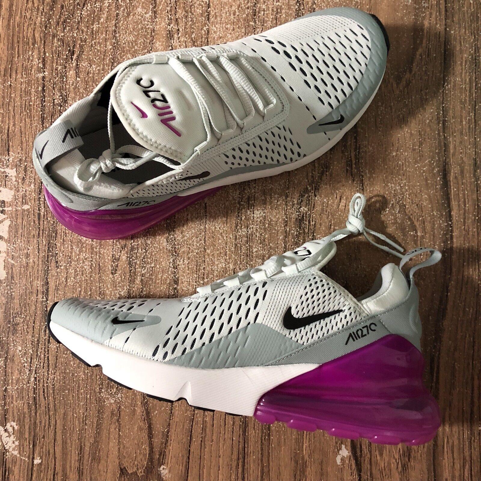 A732G Nike Women's Air Air Air Max 270 Barely Grey Purple AH6789-004 Size 9.5 NEW 6743c1
