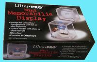 6 Ultra Pro Mini Memorabilia Display Case Clear Acrylic Golf Ball Cube Figurine