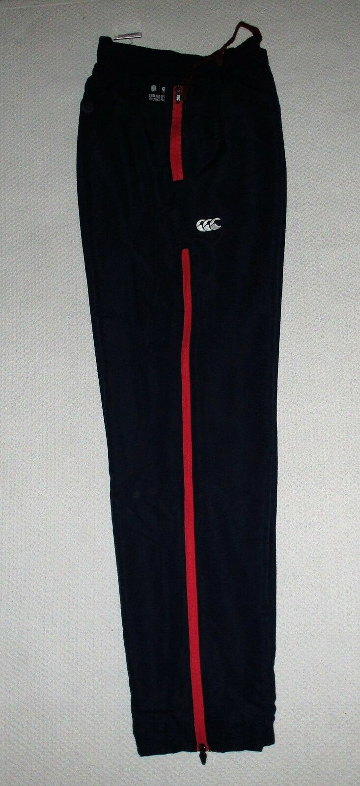 MENS CANTERBURY ENGLAND RUGBY STADIUM PANTS - RRP .99 - SALE 15% OFF
