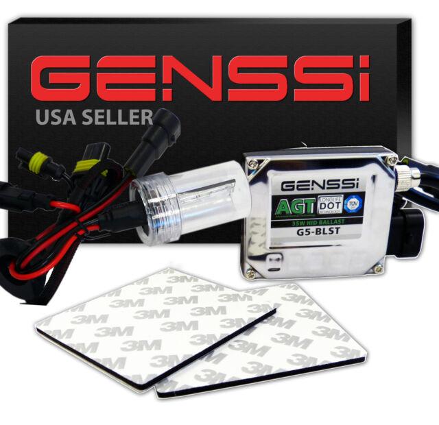 Genssi 35W Motorcycle HID Kit H4 Xenon Bulb Conversion Headlight 10000K White