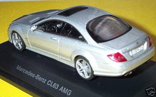 Merveilleux MODELCAR Mercedes-Benz CL 63 AMG-Argent Métallique-Échelle 1 43