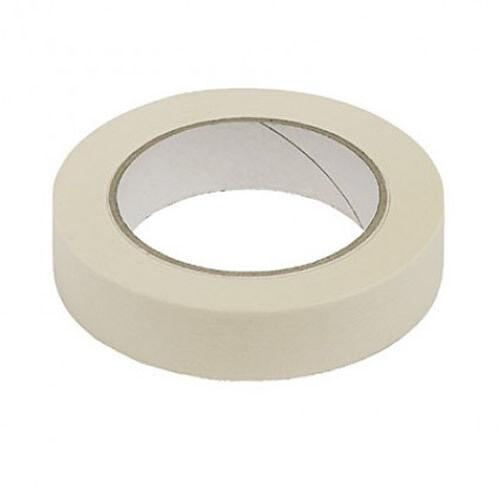 "Masking Tape 25mm 1/"" Regular Pressure Sensitive Tape 1pk"