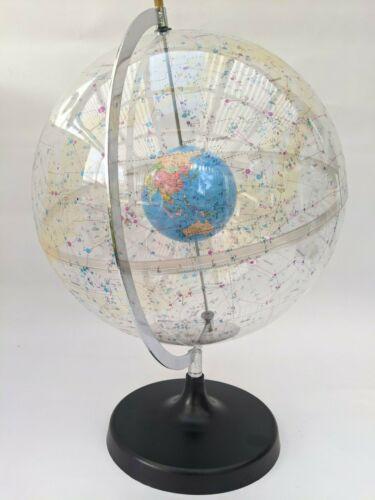 Transparent Celestial World Globe 32cm Diameter Educational /& Schools Universe