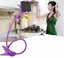 thumbnail 16 - US Flexible 360 Clip Mobile Cell Phone Holder Lazy Bed desk Bracket Mount Stand