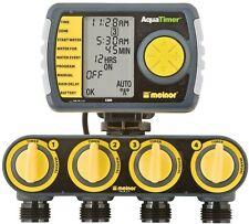 Hose Timer Water Gardern Faucet Sprinkler Digital 4 Outlet Zone Automatic System