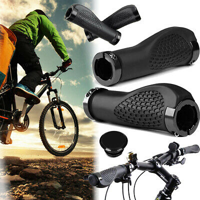 Ergonomische Lenkergriff Fahrrad Lenker Griffe Mountain Bike Grips MTB DE STOCK