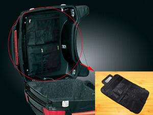 5e46e6ce4f0b Black Lid Organizer Bag Tour Pak-Pack Tourpack For Harley HD Touring ...