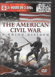 Eagle Media, The American Civil War, A Union Divided, USED, 2 DVDs