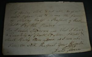JANUARY 1778 SALT CLOTH & SHIRTS FOR ARMY AT VALLEY FORGE REVOLUTIONARY WAR vafo
