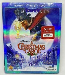 Disneys A Christmas Carol (Blu-ray/DVD, 2010, 2-Disc Set), Jim Carrey 786936808520 | eBay