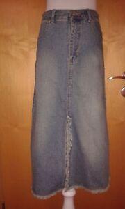 Rock Jeans 3/4 Rock Gr. 164 / XS 32/34 blau Damen Jeansrock - Deutschland - Rock Jeans 3/4 Rock Gr. 164 / XS 32/34 blau Damen Jeansrock - Deutschland