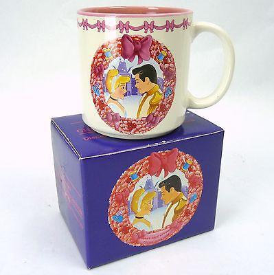 Disney MGM Studios Park Exclusive Christmas 1994 Collection MUG Cinderella NEW
