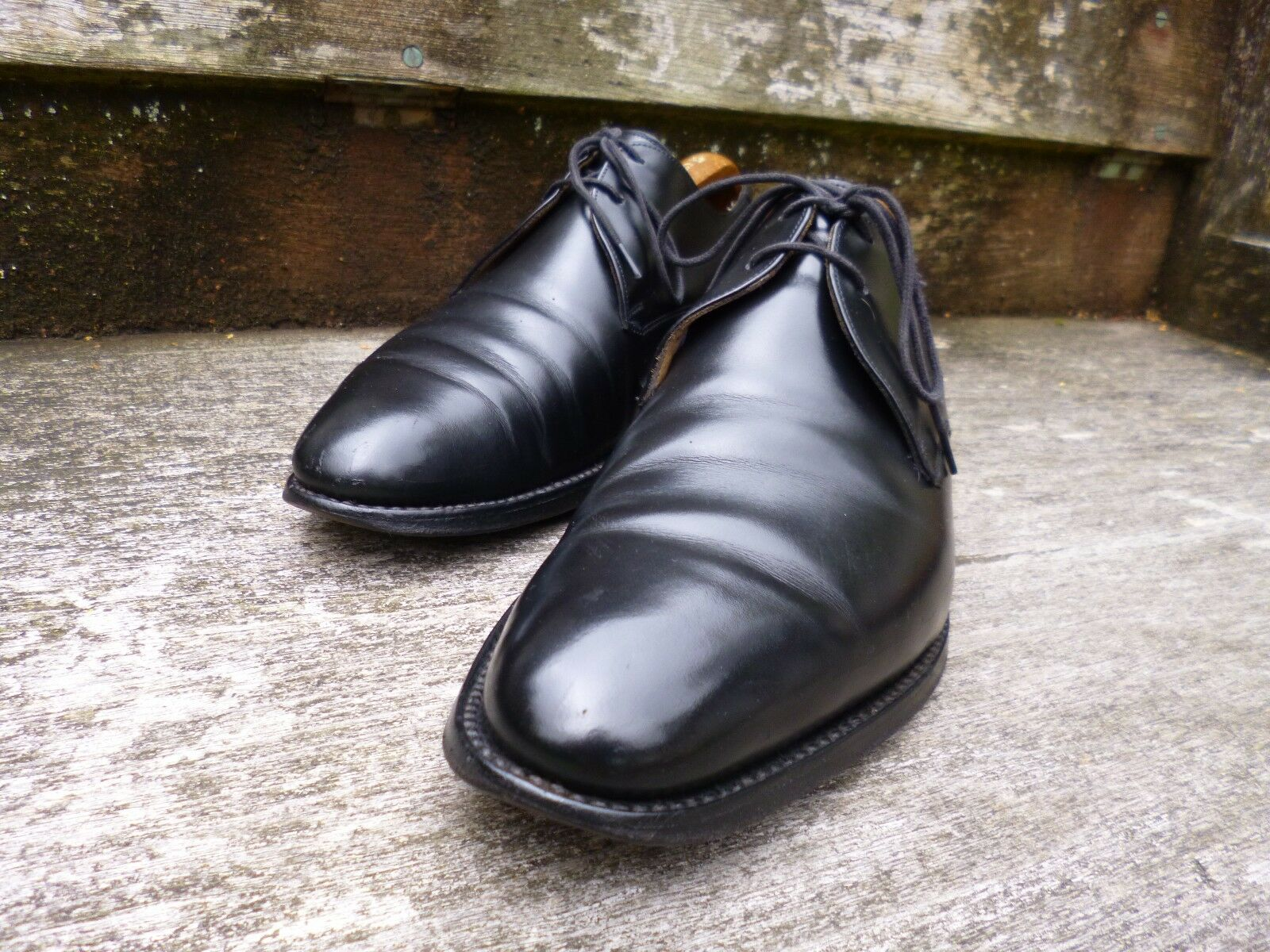 CHEANEY GIBSON – BLACK – UK 7.5 – GOOD CONDITION
