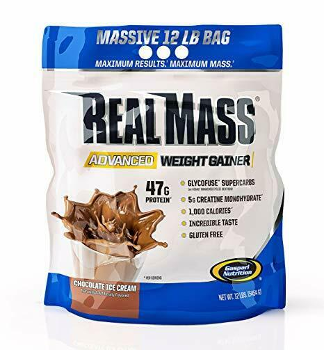 Gaspari Nutrition Real Mass 5.4kg Advance Mass Gainer Protein