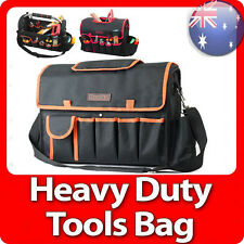 Runda Heavy Duty Handyman Tradesman Electrician Tote Carry Steel Handle Tool Bag